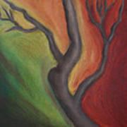 Tree Dancing Poster