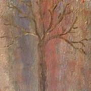 Tree - Metallic 1 Poster
