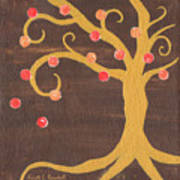 Tree Of Life - Right Poster by Kristi L Randall