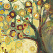 Tree Of Life In Autumn Poster by Jennifer Lommers