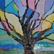 Tree Petals Poster
