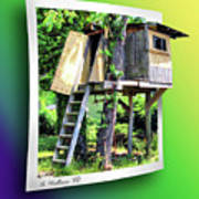 Treehouse Fort Poster