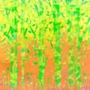 Trees in the Grass Poster