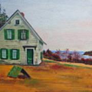 Trehaus Acadia Maine Poster