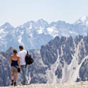 Trekking Together Poster
