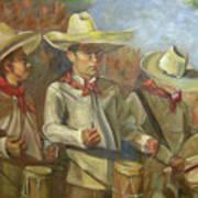 Tres Tambores Poster
