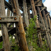 Trestle Timber Poster