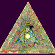 Triangle Triptych 3 Poster