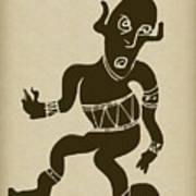 Tribal Dancer Poster