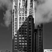 Tribune Tower 435 North Michigan Avenue Chicago Poster
