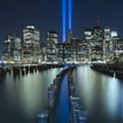 Tribute In Light Poster by Evelina Kremsdorf