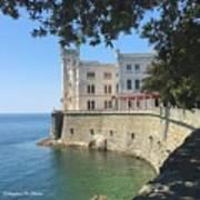 Trieste- Miramare Castle Poster