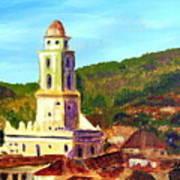 Trinidad Church Cuba Poster