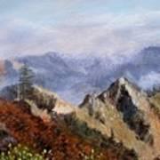 Trinity Alps Poster
