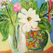 Trio Of Vases Poster