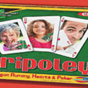 Tripoley Board Game Painting Poster