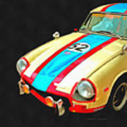 Triumph Gt Pop Art Poster