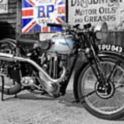 Triumph Tiger 80 Poster