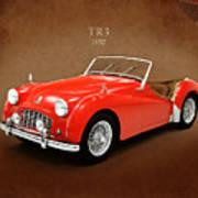 Triumph Tr3 1957 Poster