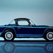 Triumph Tr5 1968 Painting Poster