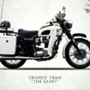 Triumph Tr6p - The Saint Poster