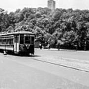 Trolley With Cloisters Poster