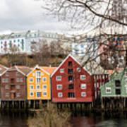 Trondheim Colors Poster