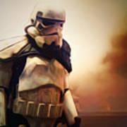 Trooper Landscape Poster