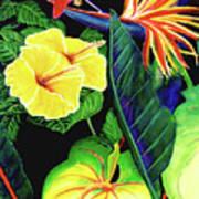 Tropical Flower Arrangement #251 Poster
