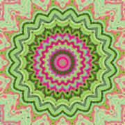 Tropical Kaleidoscope Poster
