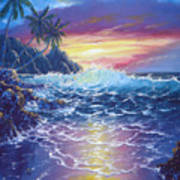 Tropical Seascape Poster