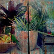 Tropical Still Life Poster