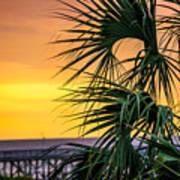 Tropical Sunrise Poster