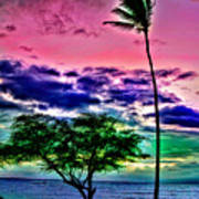 Tropical Trees Poster