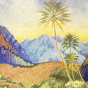 Tropical Vintage Hawaii Poster