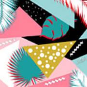 Tropics Colors  Poster