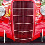 Truck Red Poster