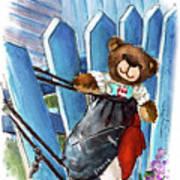 Truffle Mcfurry In Runswick Bay Poster