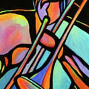 Trombonist Poster