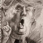 Trump A Dengerous A-hole Poster