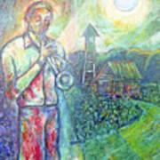 Trumpet Man Poster