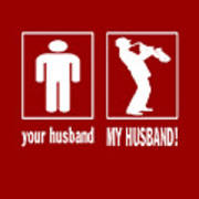 Trumpet Player - My Husband Poster