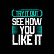 Try It Out Poster