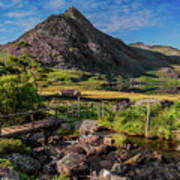 Tryfan Mountain Valley Poster