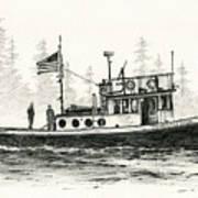 Tugboat Henrietta Foss Poster