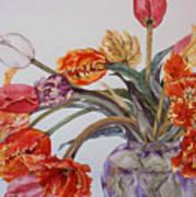 Tulip Bouquet - 12 Poster