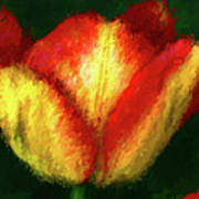 Tulip Painting Poster