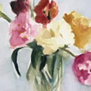 Tulips In My Studio Poster