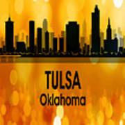 Tulsa Ok 3 Vertical Poster
