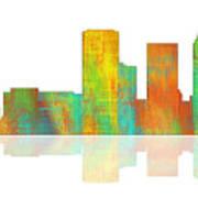 Tulsa Oklahoma Skyline-1 Poster